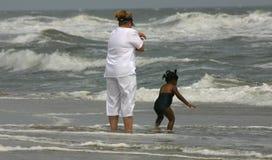 Amusement de plage Photo stock