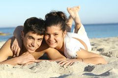 Amusement de plage image libre de droits