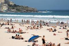 Amusement de plage de Bondi Images stock
