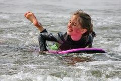 Amusement de vague déferlante Photos stock