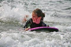 Amusement de vague déferlante Photo stock