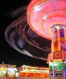 Amusement de vie nocturne d'Oktoberfest Photographie stock