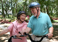 Amusement et forme physique d'aînés Photos libres de droits