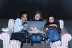 Amusement excitant sur samedi soir Images libres de droits