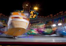 Amusement fair at night Royalty Free Stock Photos