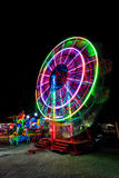 amusement ferris motion night park series wheel Στοκ φωτογραφίες με δικαίωμα ελεύθερης χρήσης
