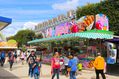 Amusement Games in Paris -France Stock Photos