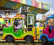 amusement girl little park Στοκ εικόνα με δικαίωμα ελεύθερης χρήσης