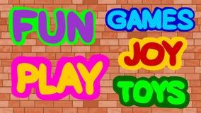 Amusement, jeux, jeu, jouet, joie Photos libres de droits