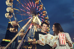 Amusement Leisure Funny Happiness Enjoyment Concept Royalty Free Stock Image