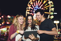 Amusement Leisure Funny Happiness Enjoyment Concept Stock Photography