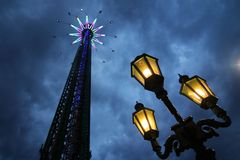 Amusement night Royalty Free Stock Photography