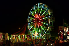 Amusement in  night Royalty Free Stock Images