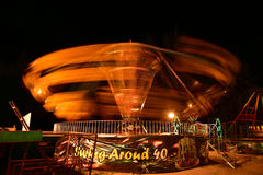 Amusement in  night Royalty Free Stock Photography
