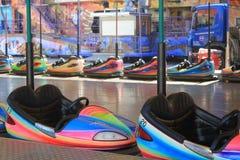 Amusement Parc avec les voitures Image libre de droits
