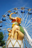 Amusement park. In Thessaloniki, Greece Royalty Free Stock Photography