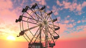 Amusement park Stock Image