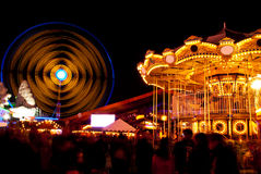 Amusement park Royalty Free Stock Photography
