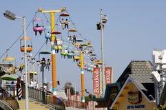Amusement Park. In Santa Cruz, CA Royalty Free Stock Photography