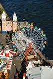Amusement park. Royalty Free Stock Photo