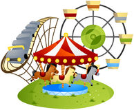 Amusement Park Stock Photo