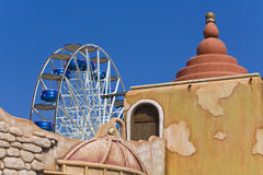 Amusement park. At Thessaloniki, Greece Royalty Free Stock Image