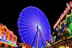 Amusement, Park, Background Royalty Free Stock Image