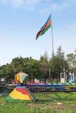 Amusement park in baku azerbaijan Stock Photography