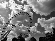 Amusement, Park, Black-and-white Stock Photos