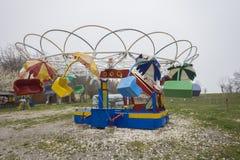 Amusement park. Closed amusement park in Varna, Bulgaria Royalty Free Stock Images
