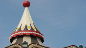Amusement park details stock footage