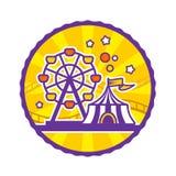 Amusement Park Emblem Stock Photos
