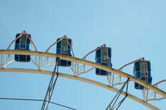 Amusement Park Ferris Wheel Royalty Free Stock Images