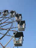 Amusement Park Ferris Wheel Stock Photography