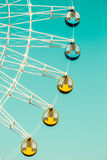 Amusement park ferris wheel Stock Photos