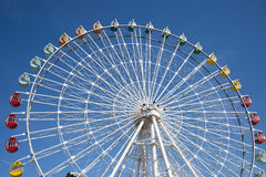 The amusement park, Ferris wheel royalty free stock images