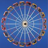 Amusement park. Ferris wheel at amusement park Stock Photo