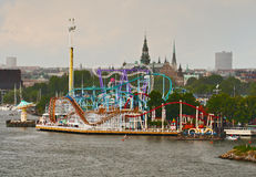 Amusement park Grona Lund Stock Photography