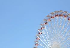 Amusement park ,A huge wheel. A huge wheel in a amusement park Royalty Free Stock Photos