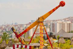 Amusement Park. In Istanbul City,Turkey Stock Image