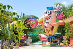 Amusement Park. / Kids theme park entrance Royalty Free Stock Photo