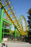 The amusement park, modern architecture Royalty Free Stock Images