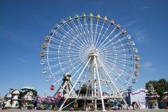 The amusement park, modern architecture Stock Photography