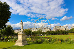 Amusement park - Paris Stock Image