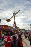 Amusement park in Paris downtown Royalty Free Stock Photography