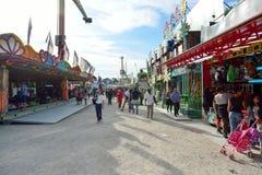 Amusement park in Paris downtown Stock Photography