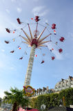 Amusement park in Paris downtown Stock Photography
