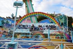 Amusement park in Paris downtwn Royalty Free Stock Photo