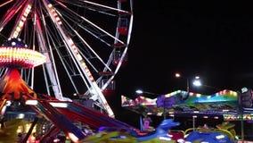 Amusement Park stock video