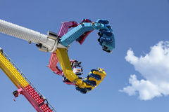 Amusement park ride Stock Photos